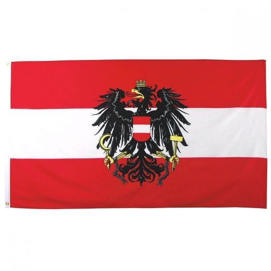 Bandera de Austria MFH de 90 x 150 cm