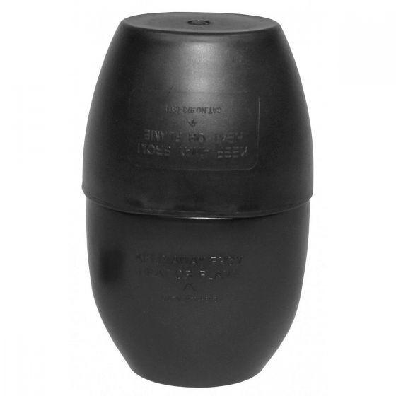Cantimplora MFH British con taza en negro