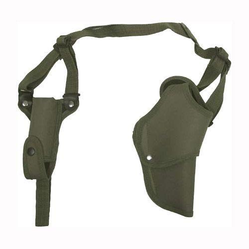 Funda de pistola para hombro derecho MFH en verde oliva