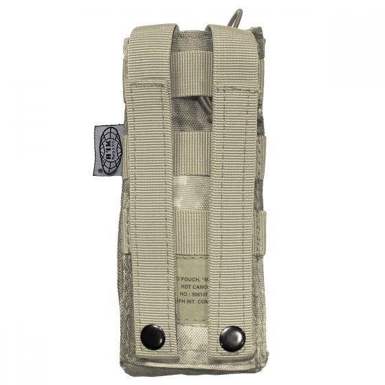 Funda para radio MFH PRC 148 MBITR con sistema MOLLE en HDT Camo AU