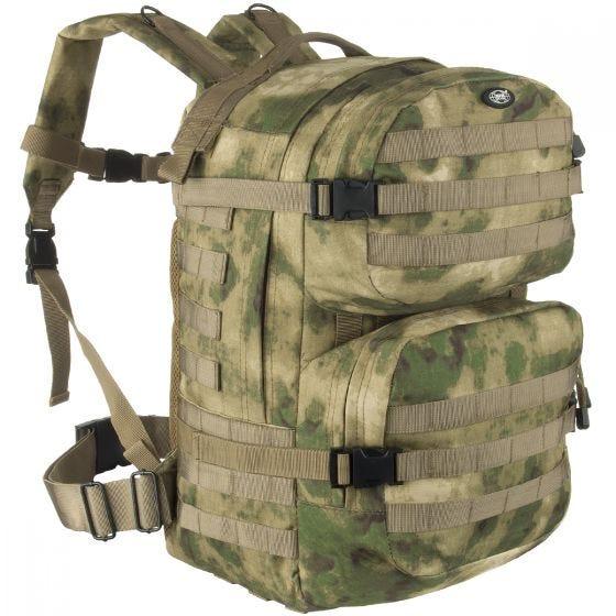 Mochila MFH Assault II en HDT Camo FG