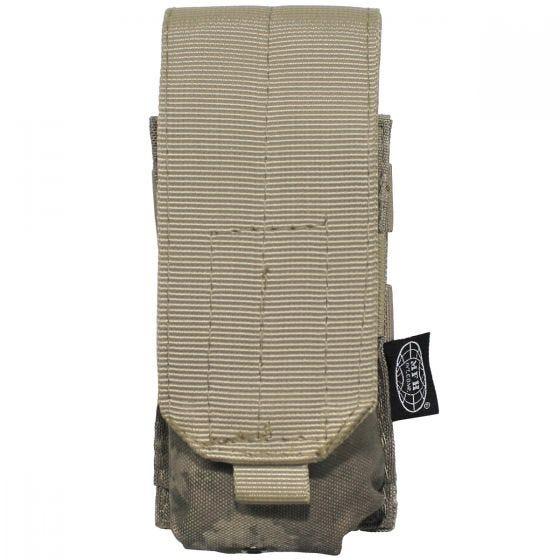 Portacargador individual MFH M4/M16 con sistema MOLLE en HDT Camo AU
