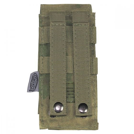 Portacargador individual MFH M4/M16 con sistema MOLLE en HDT Camo FG
