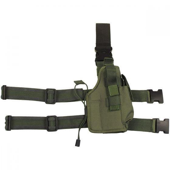 Funda para pistola MFH Tactical en verde oliva