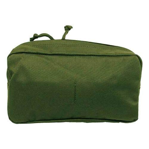 Bolsa multiusos MFH de tamaño grande con sistema MOLLE en verde oliva