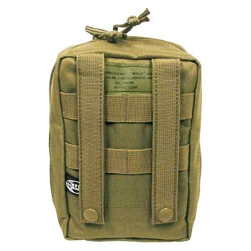 Bolsa para kit de primeros auxilios MFH con sistema MOLLE en Coyote