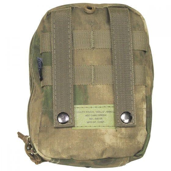 Bolsa para kit de primeros auxilios MFH con sistema MOLLE en HDT Camo FG