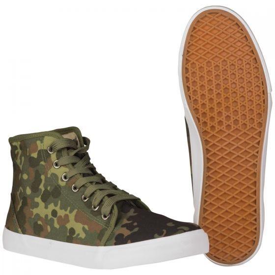 Zapatillas de deporte altas Mil-Tec Army en Flecktarn