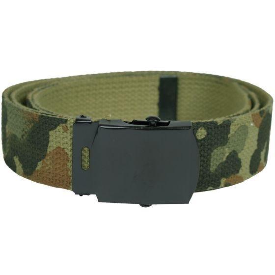 Cinturón de tela Mil-Tec en Flecktarn