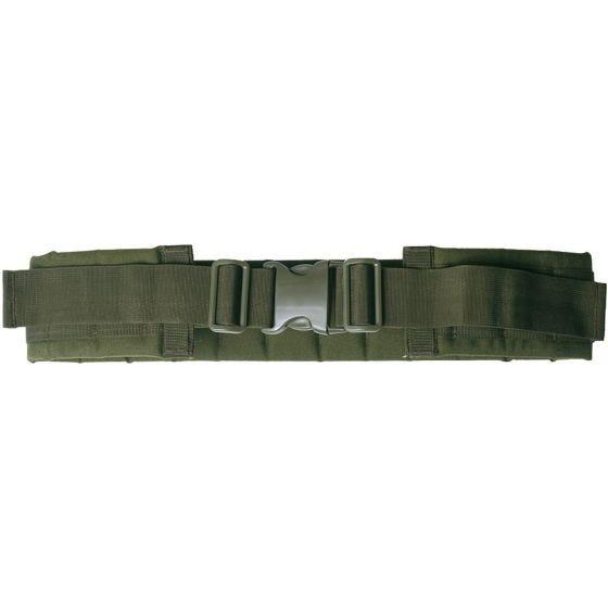 Cinturón Mil-Tec con sistema modular en verde oliva
