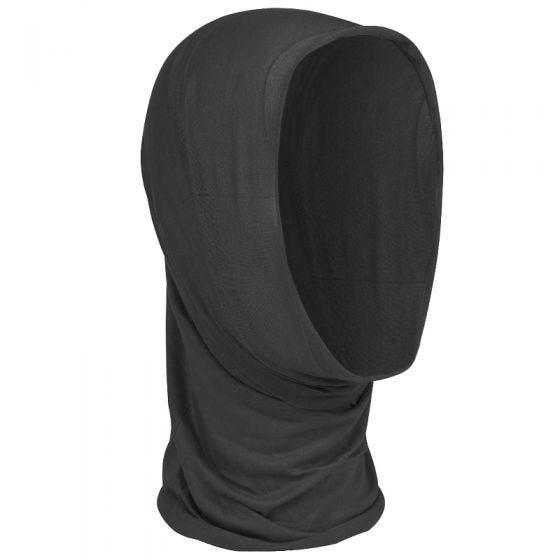 Pañuelo multifunción para la cabeza Mil-Tec en negro