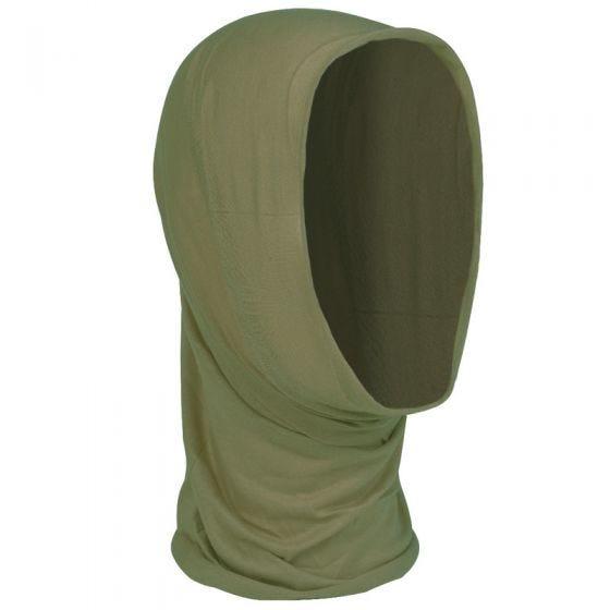 Pañuelo multifunción para la cabeza Mil-Tec en verde oliva