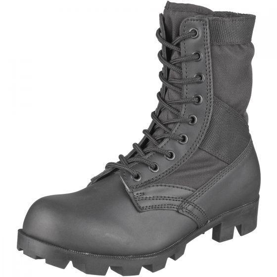 Botas de combate US Jungle en negro