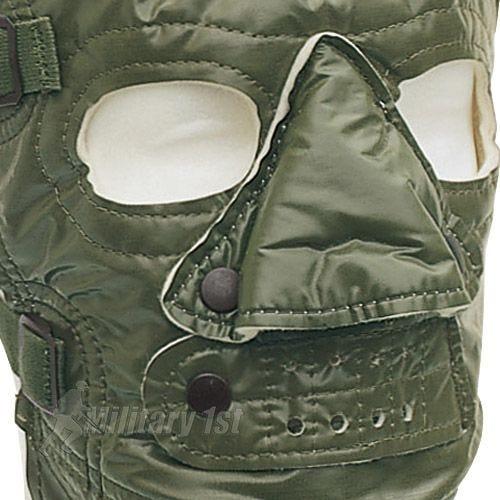 Máscara para climas fríos Mil-Tec US en verde oliva