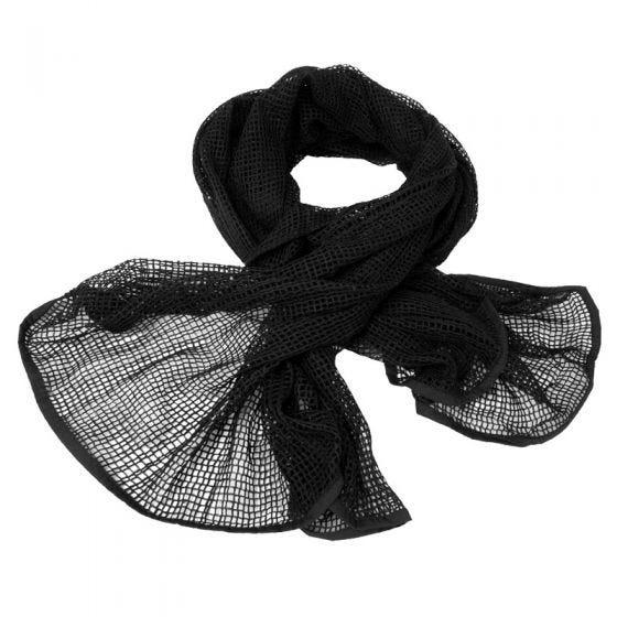 Bufanda de red Mil-Tec en negro