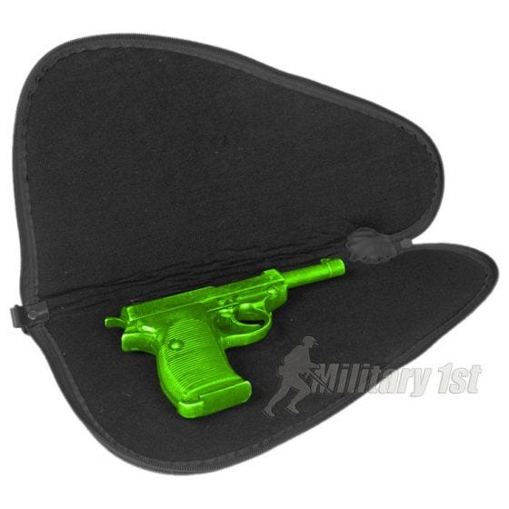 Funda para pistola Mil-Tec de tamaño grande en negro