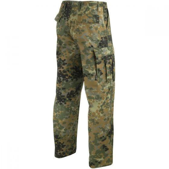 Pantalones Mil-Tec BDU Ranger Combat en Flecktarn