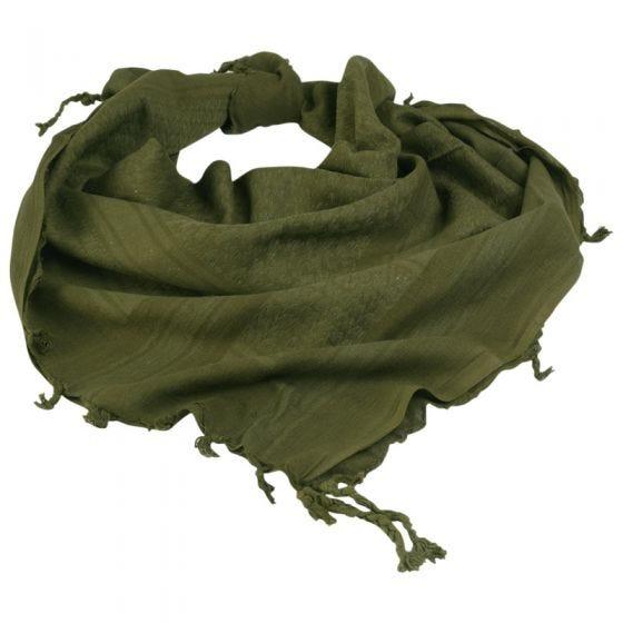Pañuelo palestino Mil-Tec Shemagh en verde oliva