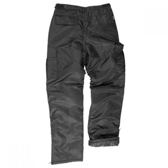 Pantalones térmicos Mil-Tec Us MA1 en negro