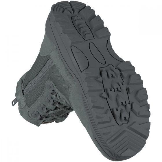 Botas tácticas Mil-Tec con cremallera lateral en Urban Grey