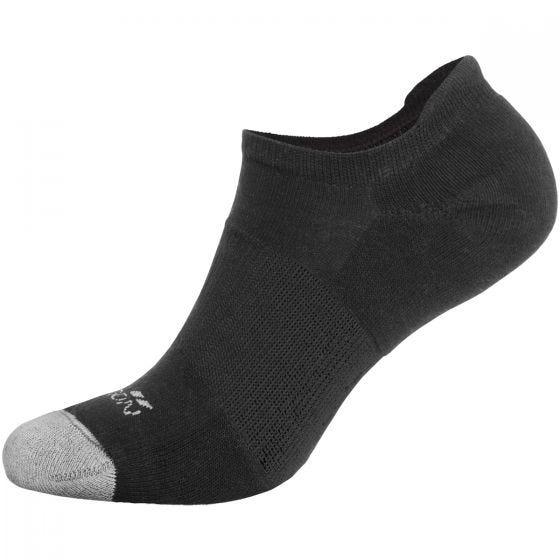 Pentagon Invisible Socks Black