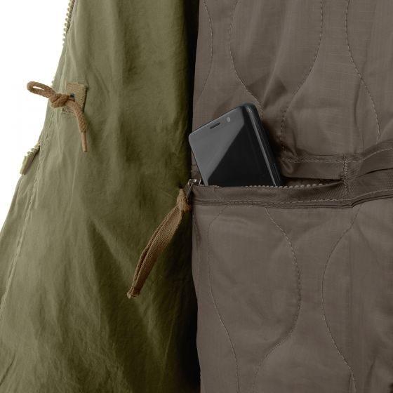 Chaqueta Surplus M65 Regiment en verde oliva