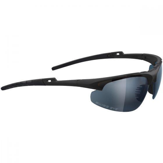 Gafas Swiss Eye Apache con montura en negro