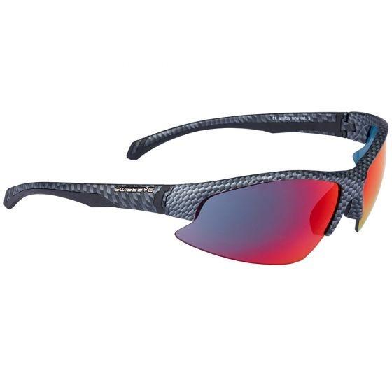 Gafas de sol Swiss Eye Flash con lentes y montura en Carbon