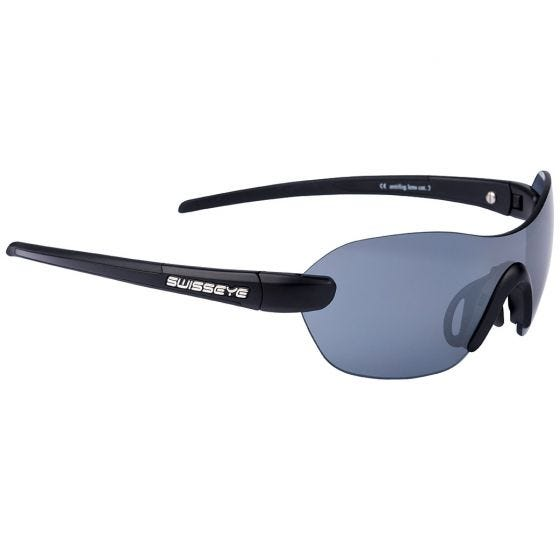 Gafas de sol Swiss Eye Horizon con montura en negro mate / negro
