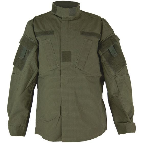 Camisa de combate Teesar ACU en verde oliva