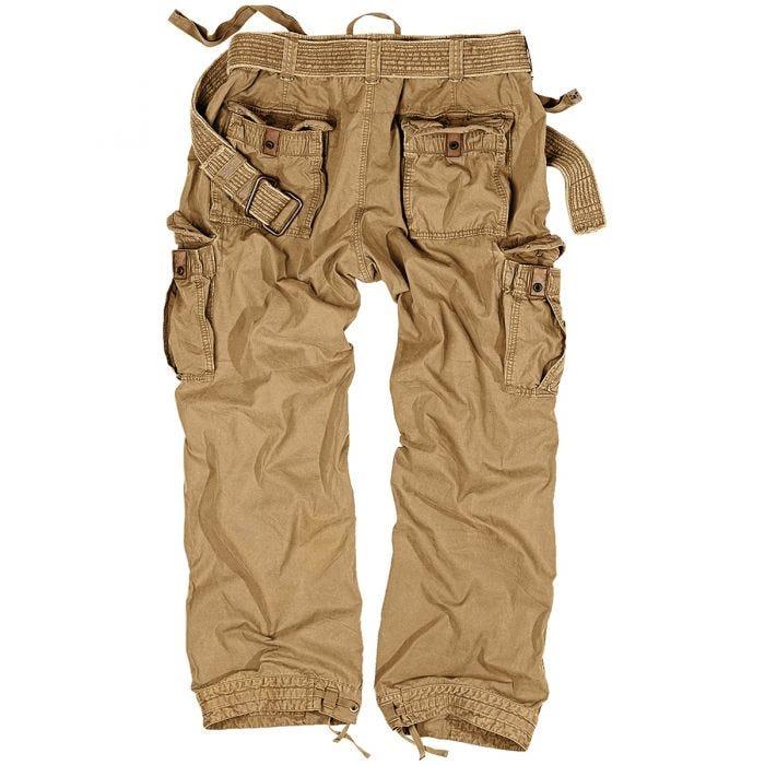 Pantalones Surplus Premium Vintage en Coyote