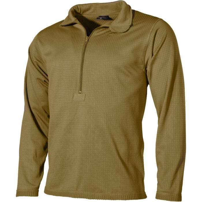 Camiseta interior MFH US Level II Gen III en Coyote Tan