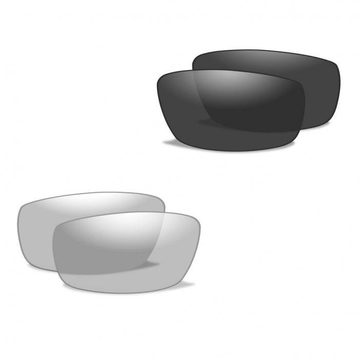 Gafas Wiley X XL-1 Advanced con lentes ahumadas + transparentes y montura en negro mate