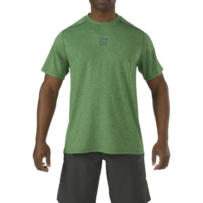 Camiseta de manga corta 5.11 RECON Triad en Grid Iron