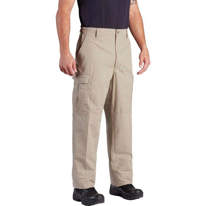 Propper BDU Trousers Button Fly Polycotton Twill Khaki