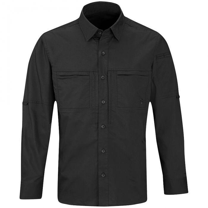 Camisa de manga larga para hombre Propper HLX en negro