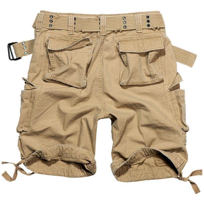 Pantalones cortos Brandit Savage Vintage en beige