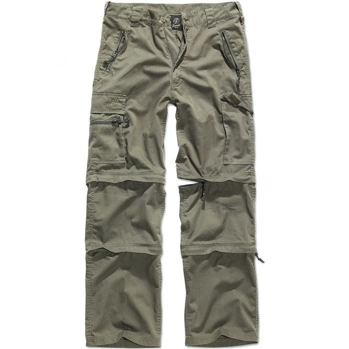 Pantalones Brandit Savannah en verde oliva