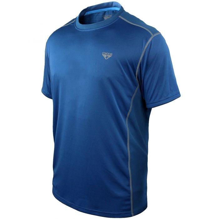 Camiseta de alto rendimiento Condor Surge en Cobalt