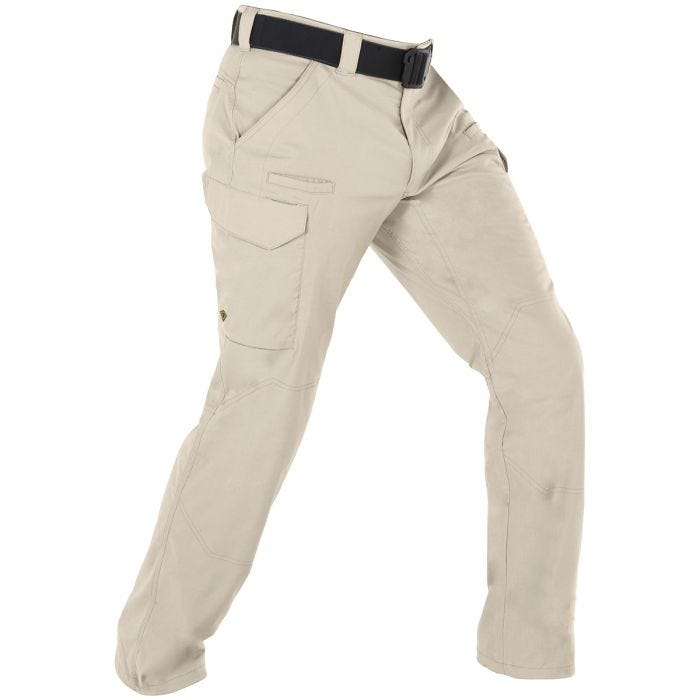 Pantalones tácticos para hombre First Tactical V2 en caqui