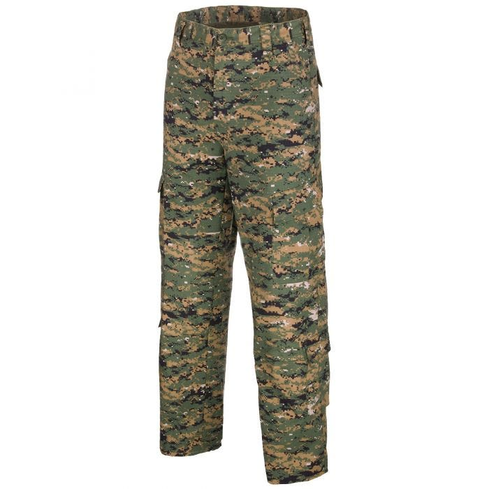 Pantalones de combate MFH ACU de Ripstop en Digital Woodland