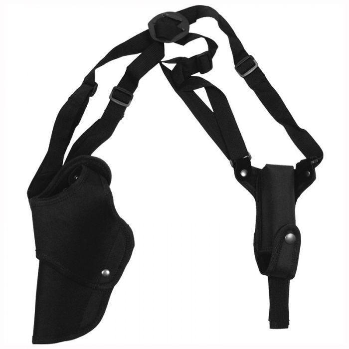 Funda de pistola para hombro izquierdo MFH en negro
