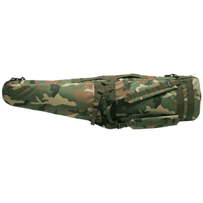 Funda para fusil/rifle MFH en Woodland Camo