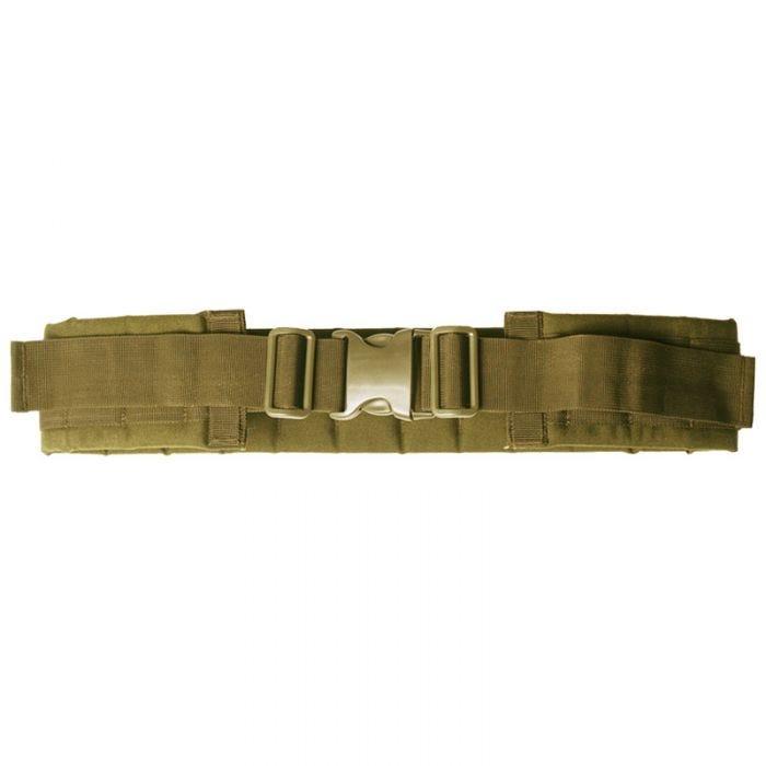 Cinturón Mil-Tec con sistema modular en Coyote