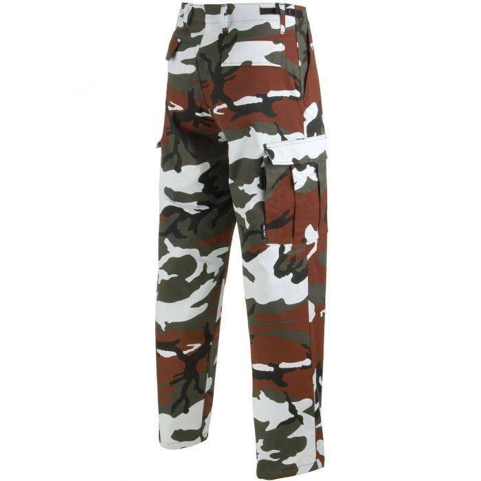 Pantalones Mil-Tec BDU Ranger Combat en Red Camo