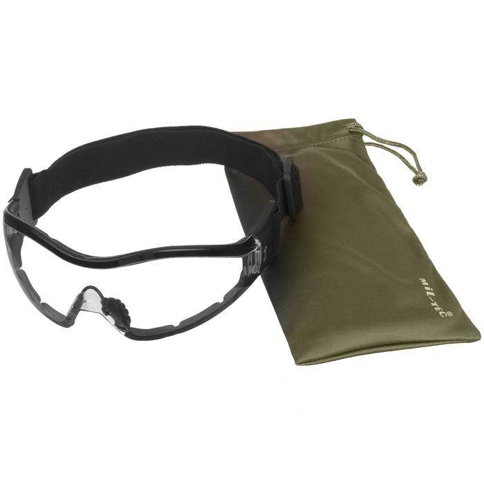 Gafas de protección Mil-Tec Commando Para en transparente