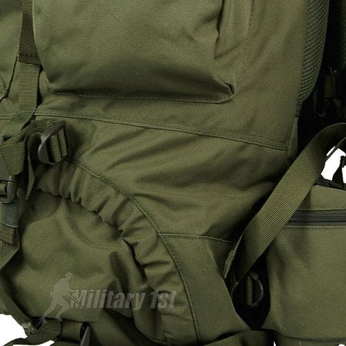 Mochila Pro-Force New Forces de 66 l en verde oliva