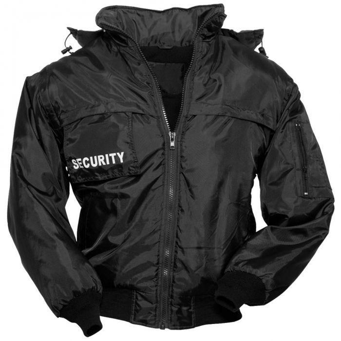 Chaqueta Surplus Security en negro