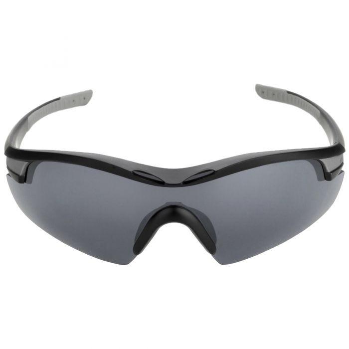 Gafas de sol Swiss Eye Novena con 3 lentes y montura en negro mate y gris