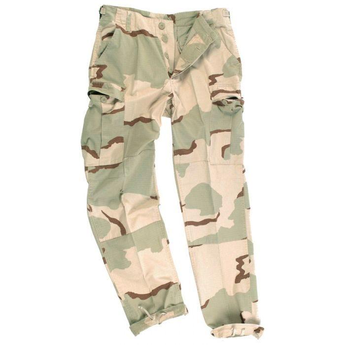 Pantalones Teesar BDU de Ripstop prelavado en Desert 3 Colores